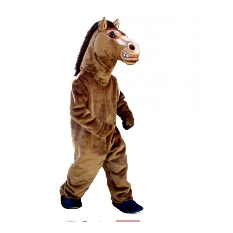 Fierce Stallion Horse Mascot Costume