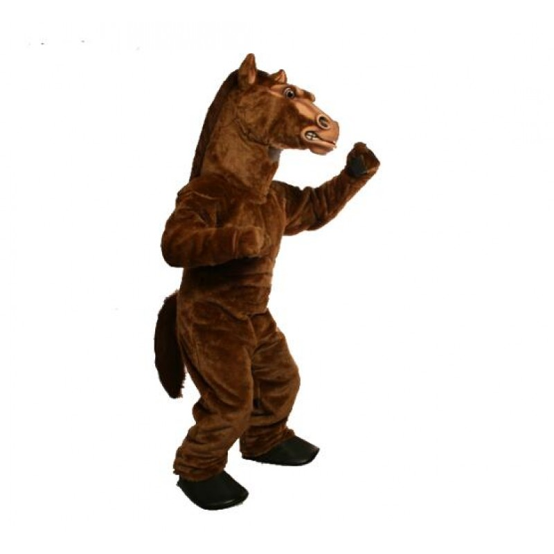 POWER FIERCE STALLION MASCOT COSTUME