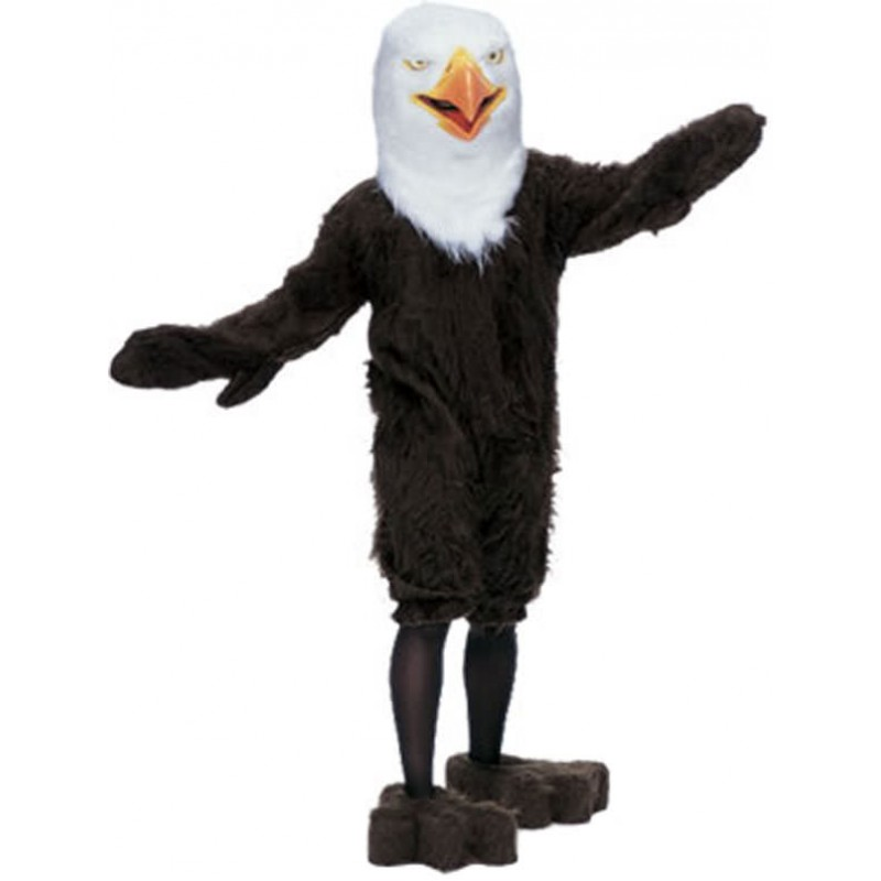 Adult Super Deluxe Mascot American Eagle Costume