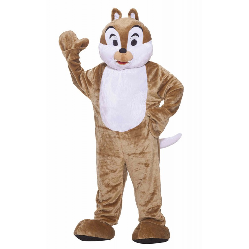 Adult Deluxe Mascot Chipmunk Costume