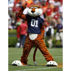 Professional Auburn Tigers Mascot Costumes Free Shipping