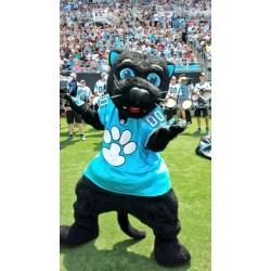 Professional Carolina cat Mascot Costumes Free Shipping
