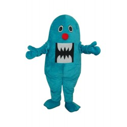 Blue Shark Mascot Adult Costume Free Shipping