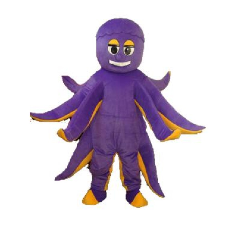 Octopus Mascot Adult Costume Free Shipping
