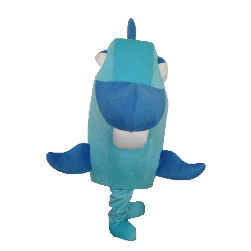 Blue Fish Mascot Adult Costume Free Shipping