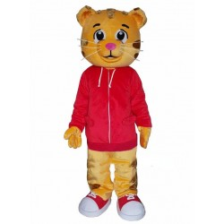 Cartton Tiger Mascot Costume Free Shipping