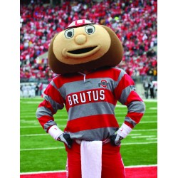 College University Brutus Buckeye Mascot Costume