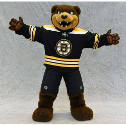 Boston Bruins mascot Blades