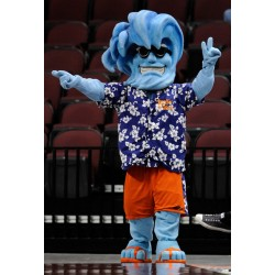 Willie the Wave Awkward Mascot Costume Free Shipping