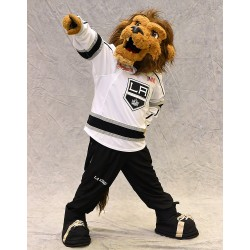 Los Angeles Kings mascot Bailey