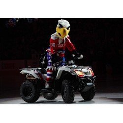 Washington Capitals mascot Slapshot