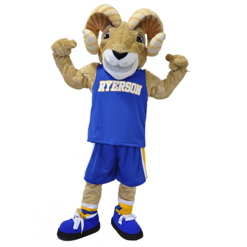 Ram Ryerson Mascot Costumes Sport Team Free Shipping