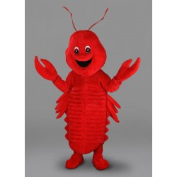 Lobster Costume - Plush Mascot Free Shipping
