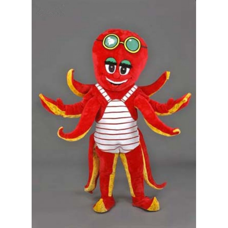 Octopus Costume Plush Mascot Free Shipping