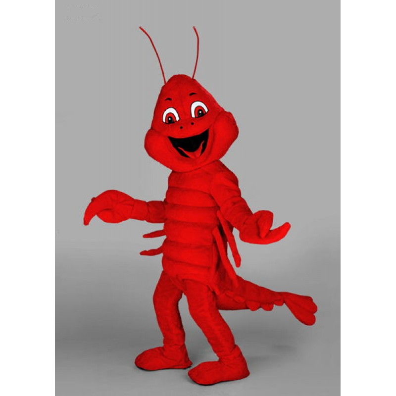 Red Lobster Mascot Costume Free Shipping
