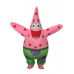 Patrick Starfish Mascot Adult Costume Free Shipping