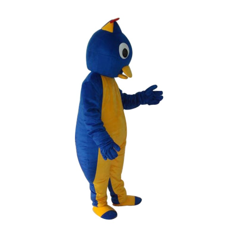 Blue Penguin 2 Mascot Adult Costume Free Shipping