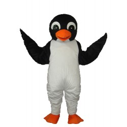 Orange Mouth Penguin Mascot Adult Costume Free Shipping