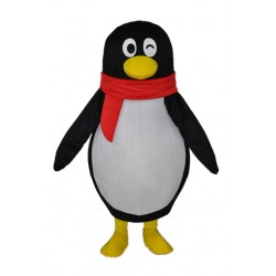 Cute little penguin Adult Mascot Costume Free Shipping