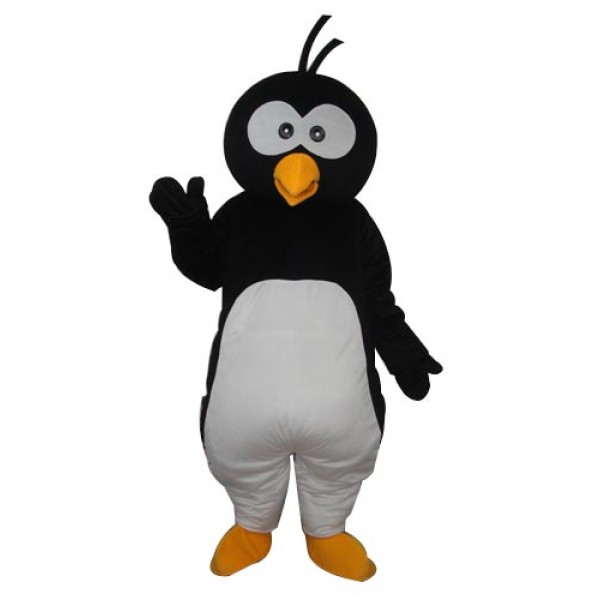 Round Head Penguin Mascot Adult Costume Free Shipping