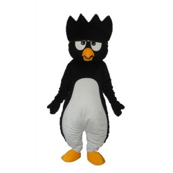 Black Little Penguin Mascot Adult Costume Free Shipping