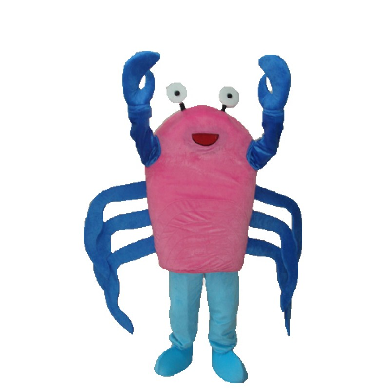 Crab Mascot Adult Costume Free Shipping