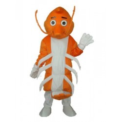 Long Moustache Lobster Mascot Adult Costume Free Shipping
