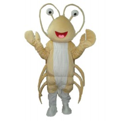 Light Yellow Long-Whiskered Lobster Free Shipping
