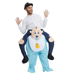 Baby Costume Ride On Me Mascot Fancy Dress