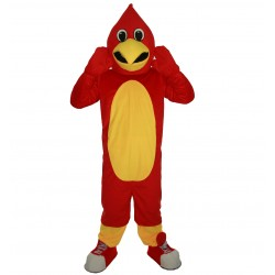 Red Road Runner Mascot Costume