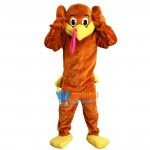 Cute Turkey Mascot Costume Adult Costume
