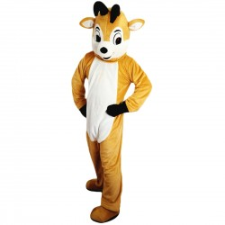 Christmas Deer Mascot Costume Adult Costume