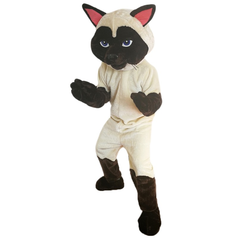 Sally Siamese Cat Mascot Costume Adult Costume
