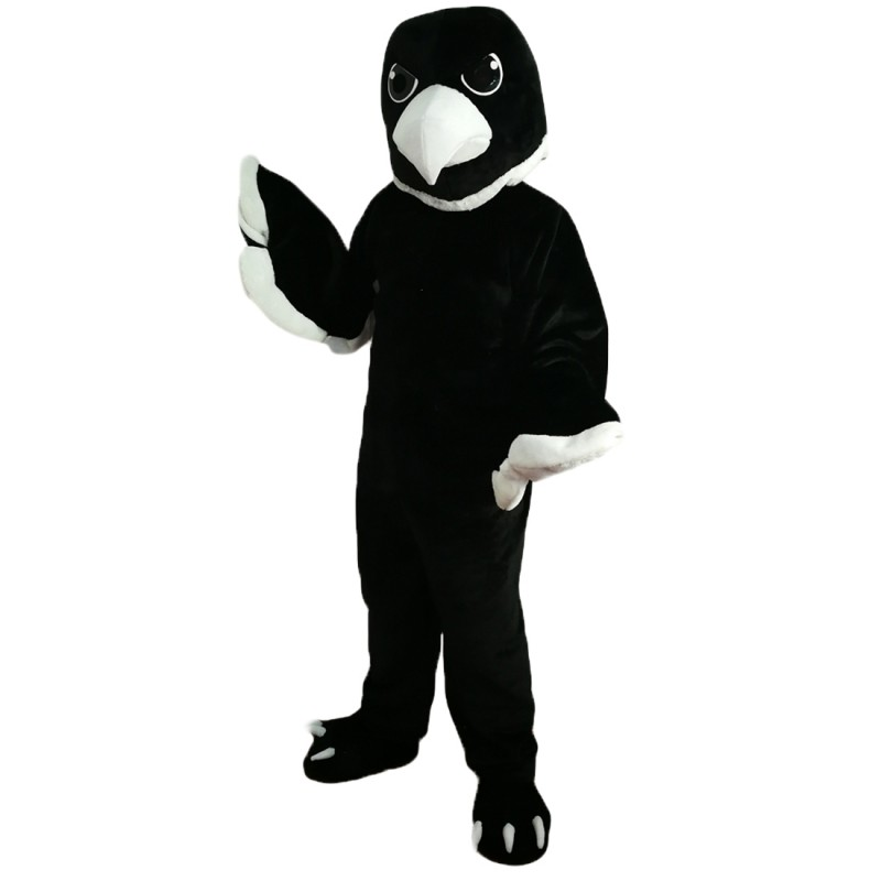 Black Baby Eagle Mascot Costume Adult Costume