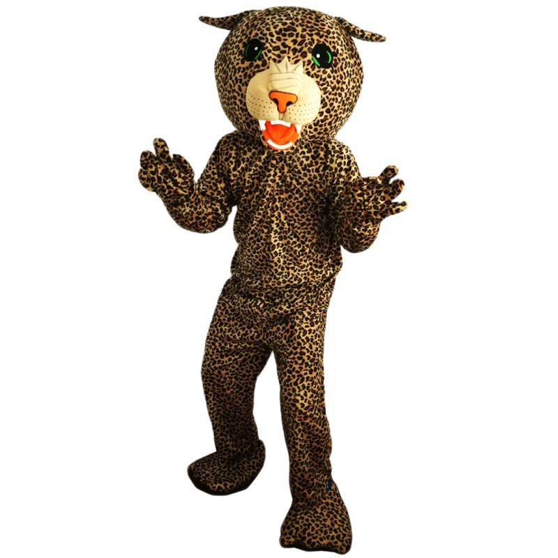 Cat Leopard Mascot Costume Adult Costume