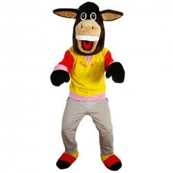 New Donkey Mascot Costume Adult Costume