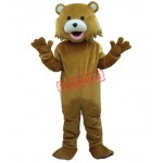 Brown Bear Adult Mascots Costume Fancy Dress Free Shipping