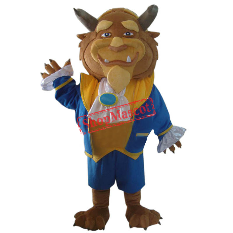 Beast Mascot Costume From Beauty and the Beast Fancy Dress