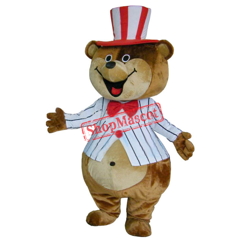 Huge Teddy Mascot Costumes Brown Bear Costumes
