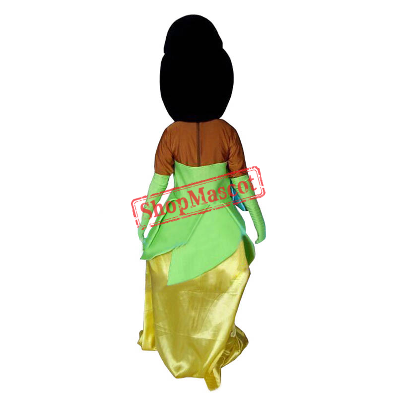 sc 1 st  ShopMascot.com & Tiana Princess Mascot Costume of The Princess and the Frog Fancy Dress