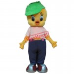 Tweety Bird Canary Cartoon Mascot Costume Suit Fancy Dress