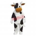 Cow Mascot Costume Halloween Cosplay Party Dress