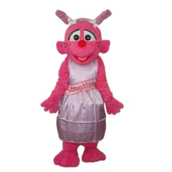 Light Purple Little Plum Mascot Adult Costume