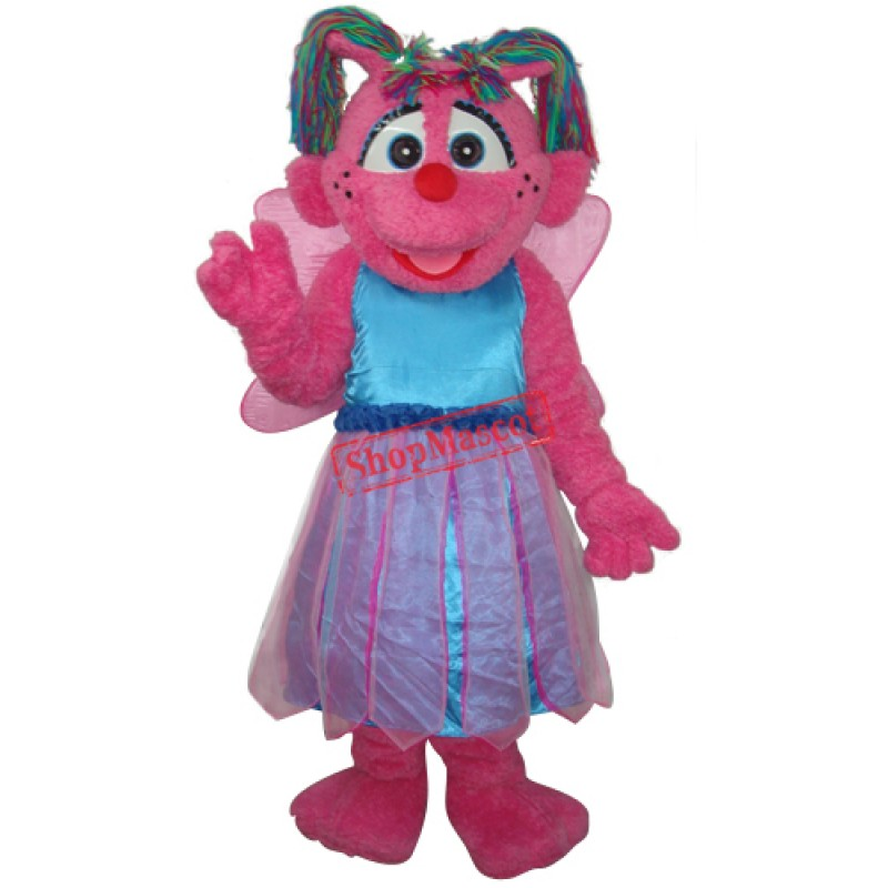 Little Plum from Sesame Street Mascot Adult Costume