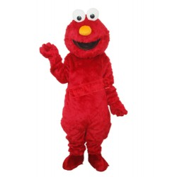 Super Cute Elmo Sesame Street Plush Adult Mascot Costume