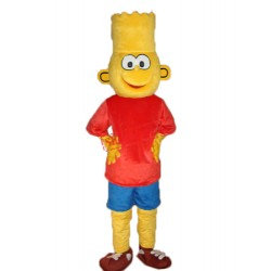 Bart Simpson Mascot Adult Costume