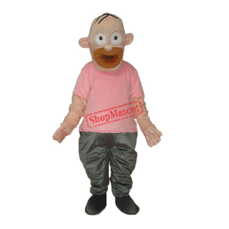 Homer Simpson Mascot Adult Costume