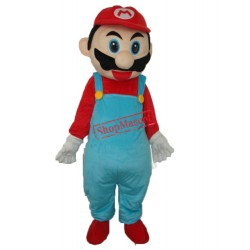 2nd Version Mario Mascot Adult Costume