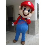 America's Flow Game Super Mario Mascot Costume
