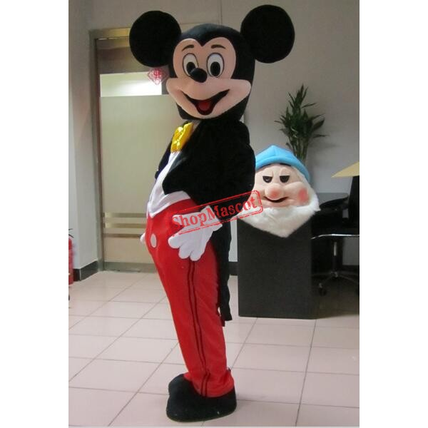 Hot Sale For Mickey Mouse Adult Mascot Costume